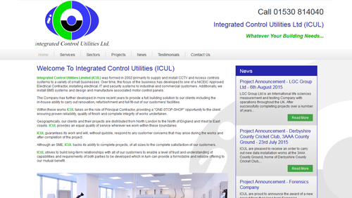Integrated Control Utilities Ltd